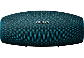 PHILIPS BT6900A Everplay, Bluetooth Lautsprecher, Wasserfest, Blau