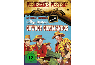 The Range Busters Cowboy Commandos - Vergessene Western - Vol. 26 - (DVD)