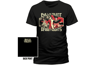 Billy Talent - Afraid Of Heights (T-Shirt,Schwarz,Größe M)