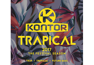 VARIOUS - Kontor Trapical 2017-The Festival Season - (CD)