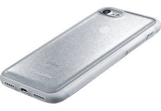 CELLULAR LINE HARD SELFIE CASE, Backcover, Apple, iPhone 7, TPU Hard-Cover, Silber