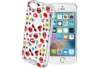 CELLULAR LINE STYLE CASE, Apple, Backcover, iPhone 5, 5s, 5se, TPU Material, Transparent