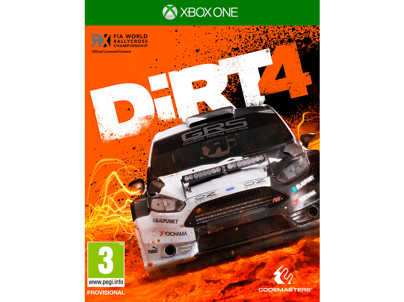 Dirt 4 Day One Edition Xbox One gaming games xbox one games