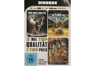 Dino Box : 100 Million BC - The Land That Time Forgot - Vergessene Welten - 3 Filme - (DVD)
