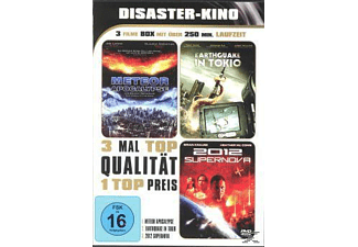 Disaster-Kino: Meteor / Earthquake in Tokio / 2012 Supernova - (DVD)