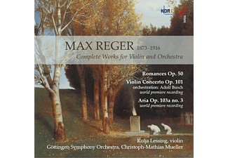 Kolja Lessing, Göttingen Symphony Orchestra - Reger: Complete Works For Violin And Orchestra - (CD)
