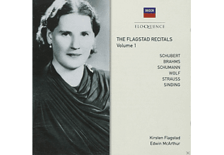 Flagstad Kirsten - Flagstad Recitals-Vol.1 - (CD)