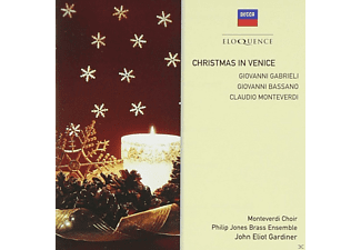 Philipp Jones Brass Ensemble, Monteverdi Chor - Christmas in Venice - (CD)