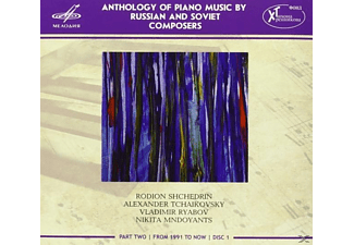 Ekaterina Mechetina, Gryaznov - Anthology of Piano Music by Russian and Soviet Composers - (CD)