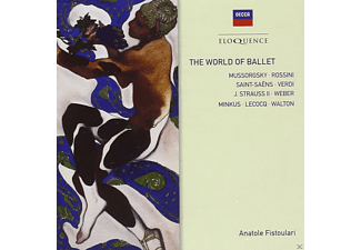 Paris Conservatoire Orchestra, New Symphony Orchestra, Anatole Fistoulari, Orchestra Of The Royal Opera House - The World Of Ballet - (CD)