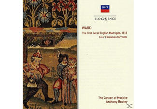 The Consorte Of Musicke - The First Set Of English Madrigals - (CD)