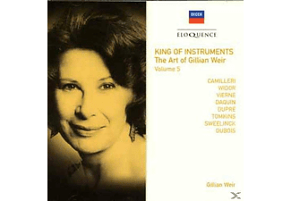 Gillian Weir, VARIOUS - King Of Instruments Vol.5 - (CD)