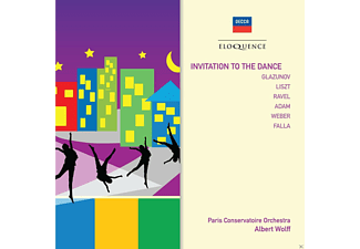 Paris Coservatoire Orchestra - Invitation to Dance - (CD)