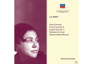 Alicia  De Larrocha - Bach: Piano Works - (CD)