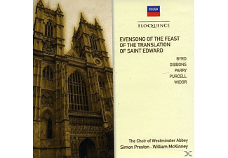 Preston Simon, The Choir Of Westminster Abbey - Evensong For The Translation Of St.edward - (CD)