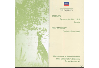 Ansermet - Sinfonien 2,4 & Tapiola/Isle of the Dead - (CD)