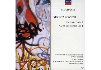 VARIOUS - Shostakovich: Symphony No. 5. Piano Concerto No. 1 - (CD)