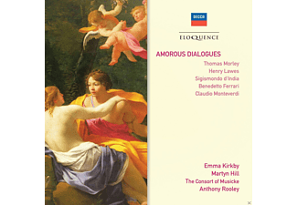 Emma Kirkby, Martyn Hill, Anthony Rooley, Consort Of Musicke - Amorous Dialogues - (CD)
