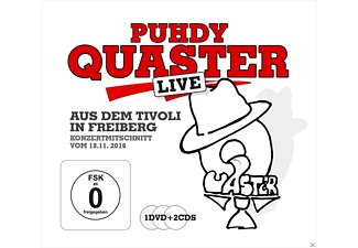 Hertrampf,Quaster,Dieter - QUASTER LIVE AUS DEM TIVOLI - (CD + DVD Video)