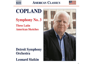 Leonard Slatkin, Detroit Symphony Orchestra - Sinfonie 3/Three Latin Sketches - (CD)