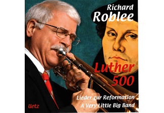 A Vervy Little Big Band, Jürgen Hahn, Richard Roblee, Martin Luther - Luther 500 - (CD)