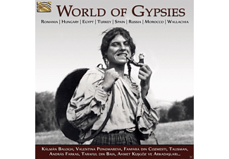 VARIOUS - WORLD OF GYPSIES - (CD)