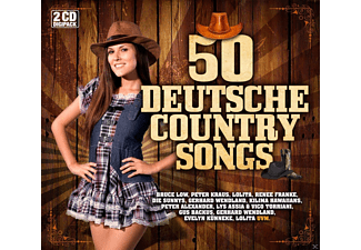 VARIOUS - DEUTSCHE COUNTRY SONGS - (CD)
