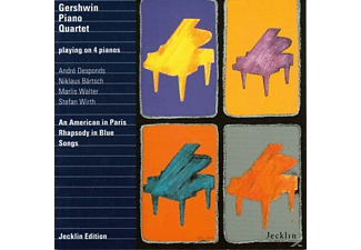 The Gershwin Piano Quartet - Gershwin Piano Quartet - (CD)