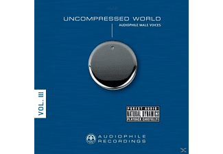 VARIOUS - UNCOMPRESSED WORLD-AUDIOPHILE MALE VOICES - (Vinyl)