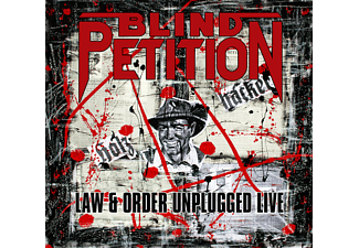 Blind Petition - LAW & ORDER UNPLUGGED (LIVE) - (CD)