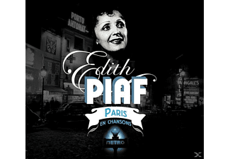 Edith Piaf - PARIS EN CHANSONS - (CD)