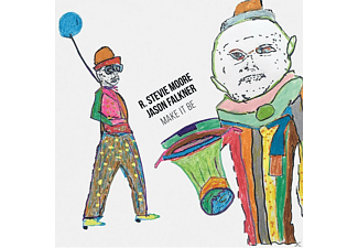 R. STEVIE MOORE & JASON FALKNER - Make It Be - (CD)