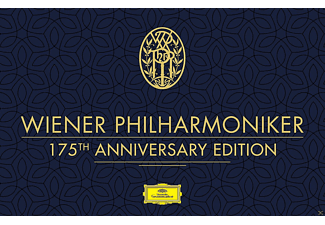 Various Condunctors, Wiener Philharmoniker - Wiener Philharmoniker 175th Anniversary Edition - (CD + DVD Video)