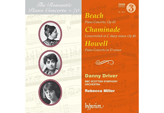 Danny Driver, Bbc Scottish Symphony Orchestra - ROMANTIC PIANO CONCERTO 70 - (CD)