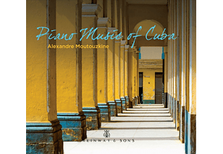 Alexandre Moutouzkine - Piano Music of Cuba - (CD)