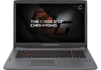 ASUS GL702VM-BA323T, Gaming Notebook mit 17.3 Zoll Display, Core™ i7 Prozessor, 16 GB RAM, 1 TB HDD, 256 GB SSD, GeForce® GTX 1060, Titanium Gold