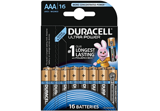 duracell ultra power alkaline aaa batterien 16er pack lr03 mx2400 batterien kaufen bei saturn. Black Bedroom Furniture Sets. Home Design Ideas