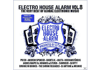 VARIOUS - Electro House Alarm Vol.8 - (CD)