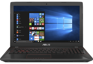 ASUS FX553VD-DM234T, Gaming Notebook mit 15.6 Zoll Display, Core™ i5 Prozessor, 8 GB RAM, 1 TB HDD, 128 GB SSD, GeForce® GTX 1050, Schwarz