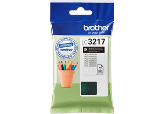 BROTHER Original Tintenpatrone Schwarz (LC3217BK)