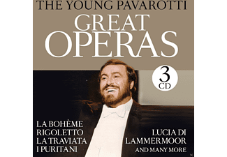 The  Young Pavarotti - Great Operas [CD]