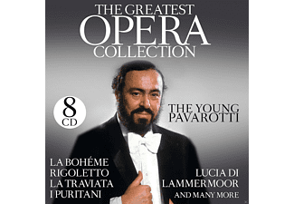 The Young Pavarotti - The Greatest Opera Collection [CD]