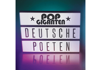 VARIOUS - Pop Giganten-Deutsche Poeten - (CD)
