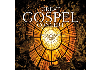 VARIOUS - GREAT GOSPEL CONCERT - (CD)