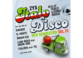 VARIOUS - ZYX ITALO DISCO NEW GENERATION 10 - (CD)