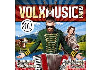 VARIOUS - VOLXmusic Party 2017 - (CD)