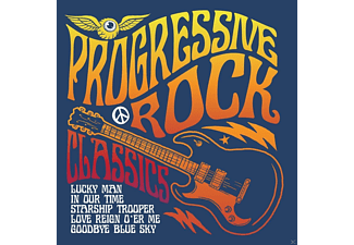 VARIOUS - Progressive Rock Classics - (CD)