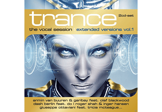 VARIOUS - Trance: The Vocal Session-Extended Versions Vol.1 - (CD)