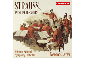 Estonian National Symphony Orchestr - Strauss in St.Petersburg - (CD)