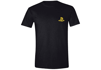 Sony Playstation T-Shirt Player (Goldfolie) L